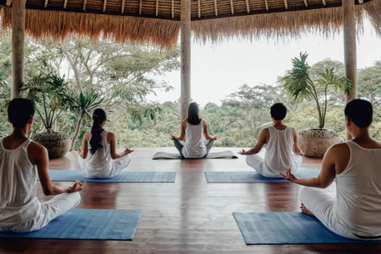 Mediation and Yoga, Nusa Penida, Bali